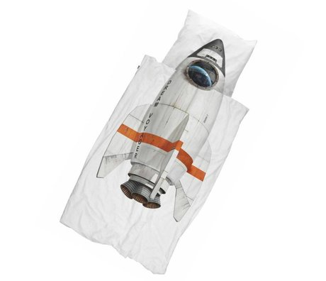 Snurk Beddengoed Duvet cover Rocket 140x200 / 220 incl cushion cover 60x70cm