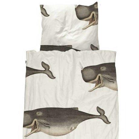 Snurk Beddengoed Children's duvet cover Whale 140x200 / 220cm