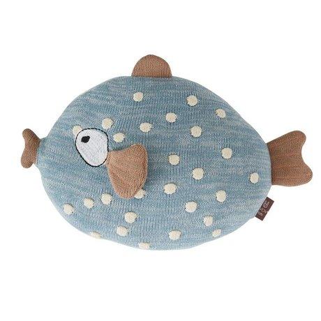 OYOY Throw pillow Little Finn multicolour textile 23x30x15cm