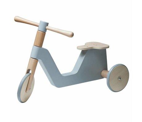 Sebra baby scooter gray wood