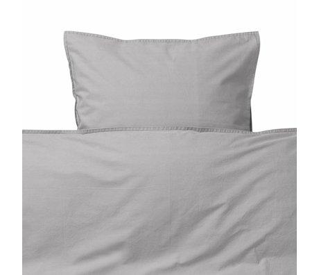 Ferm Living kids Children's bed linen Hush gray cotton 70x100cm-46x40cm