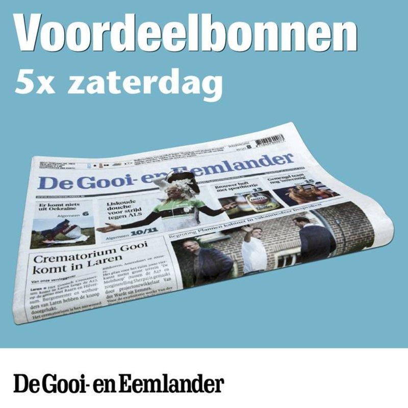 Zaterdagbonnen De Gooi- en Eemlander