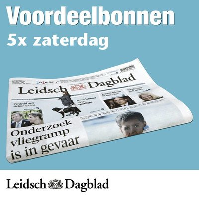 Zaterdagbonnen Leidsch Dagblad
