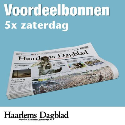 Zaterdagbonnen Haarlems Dagblad