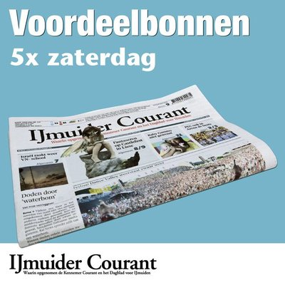 Zaterdagbonnen IJmuider Courant