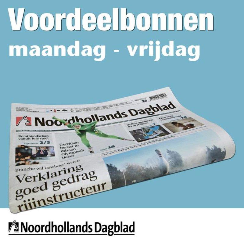 Weekbonnen Noordhollands Dagblad