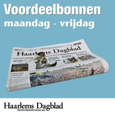 Weekbonnen Haarlems Dagblad