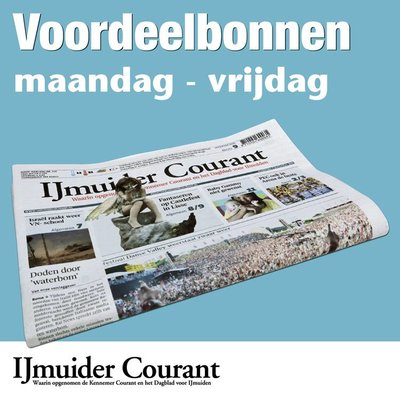 Weekbonnen IJmuider Courant