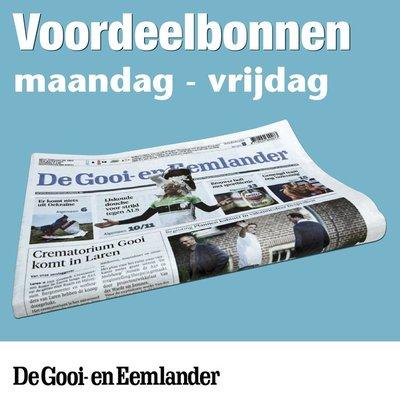 Weekbonnen De Gooi- en Eemlander