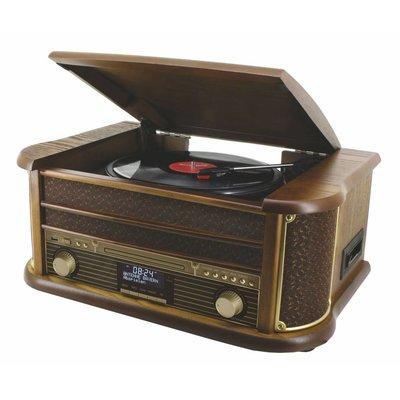 Soundmaster NR513DAB nostalgisch muziek center met DAB+
