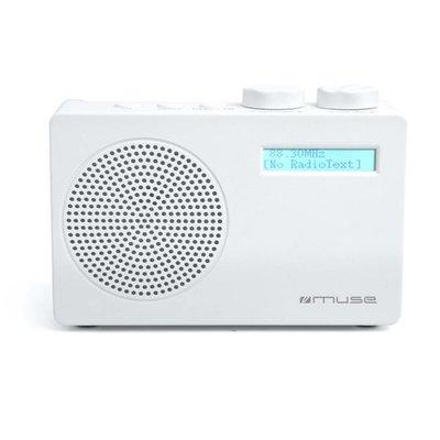 DAB+ Transistorradio Wit, Muse M100