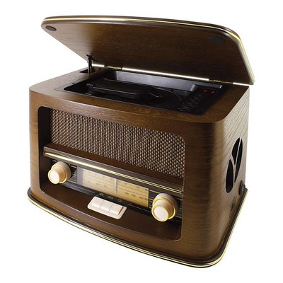 Nostalgische Radio met CD-Speler Soundmaster NR 975 CD