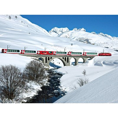 8 dagen Zwitserse Alpen, Glacier en Mont Blanc Express