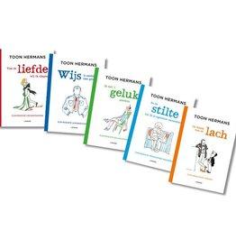 Vijf bundels met Toon Hermans' mooiste verzen. Per boek slechts:
