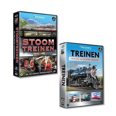 Alles over treinen op 6 dvd's