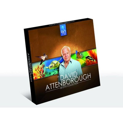 David Attenborough 20dvd-box