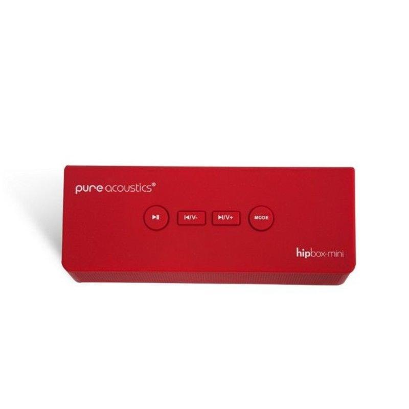 Pure Acoustics Hipbox Mini Speaker - Rood