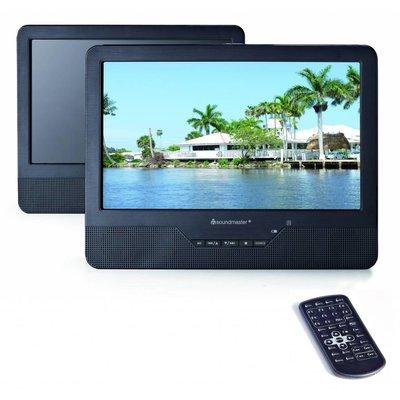 """Soundmaster Portable DVD speler met twee 9"""" TFT-LCD scherm PDB1800"""