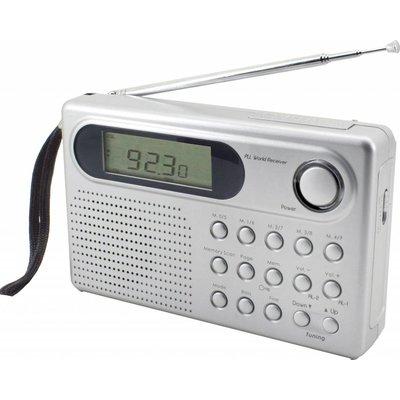 Soundmaster 4-band wereldontvanger met RDS WE320