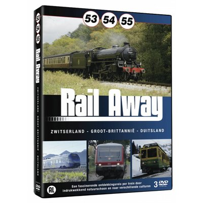 Rail Away 53,54,55 dvdbox