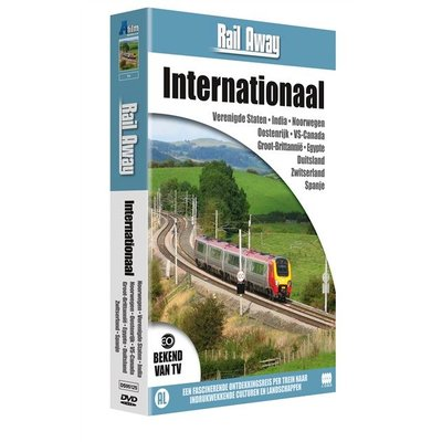 Rail Away 16DVD Pakket