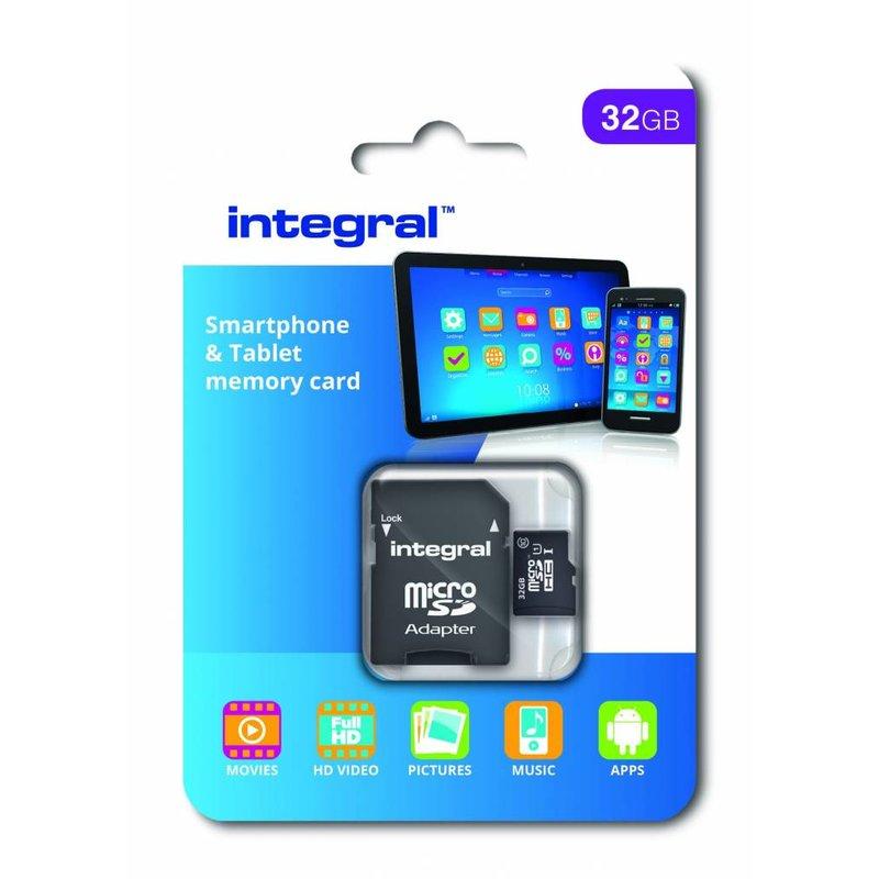 32GB Micro SD kaart class 10