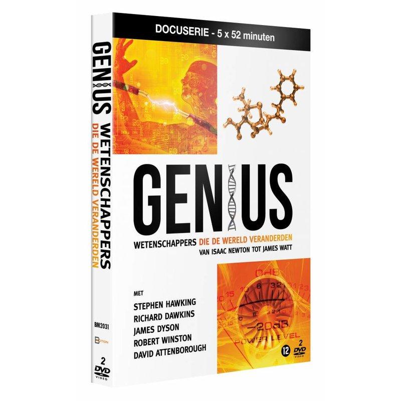 DVD GENIUS - Wetenschappers die de wereld veranderden (2DVD)