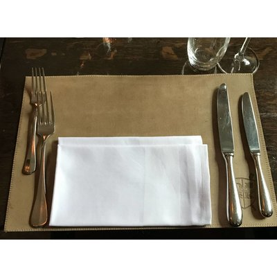 Lederen placemats - 4 pack Smooth