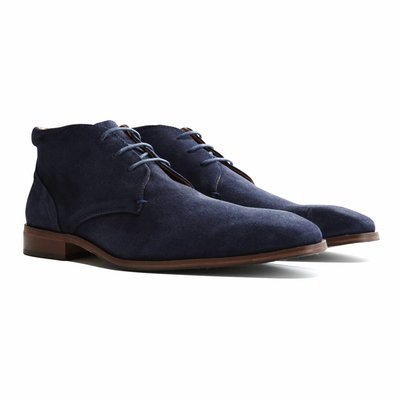 Travelin' Gatwick Suede Dark Blue