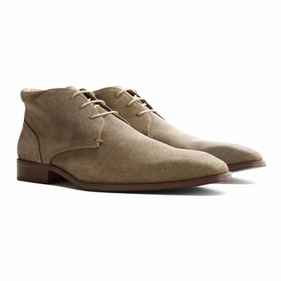 Travelin' Gatwick Suede Taupe
