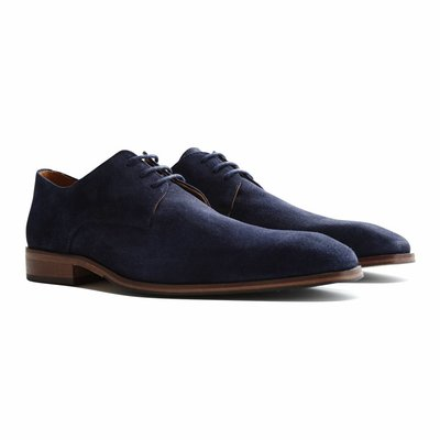 Travelin' Heathrow Suede Dark Blue