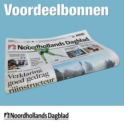 Zaterdagbonnen Noordhollands Dagblad