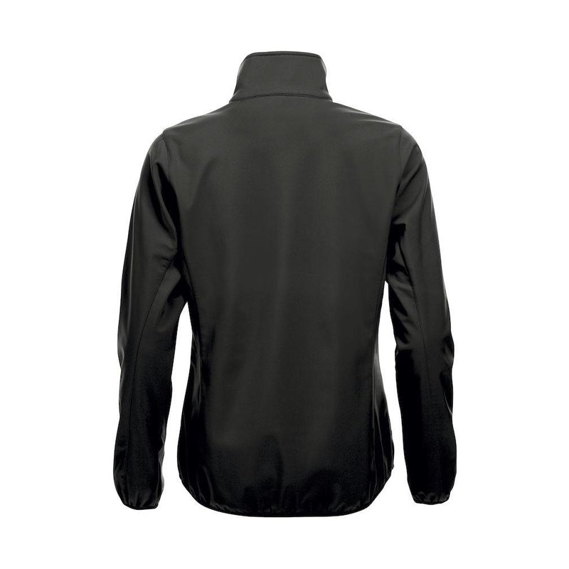 Softshell damesjas - zwart