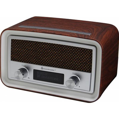 Soundmaster UR190 wekkerradio - donkerbruin