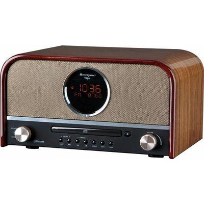 Soundmaster NR850BR nostalgische radio en CD-speler