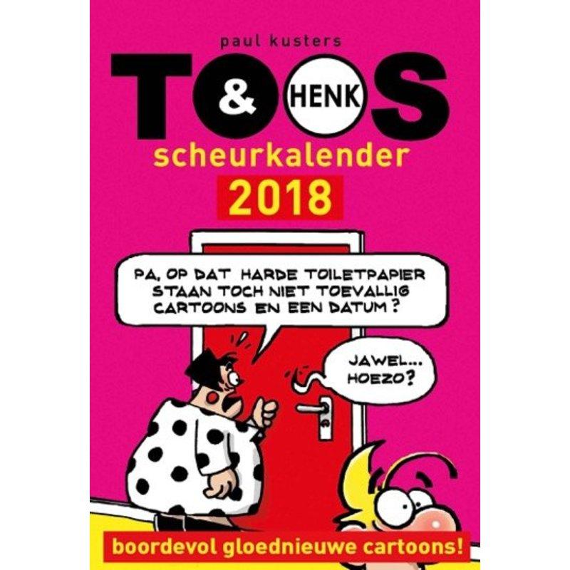 Toos en Henk scheurkalender 2018