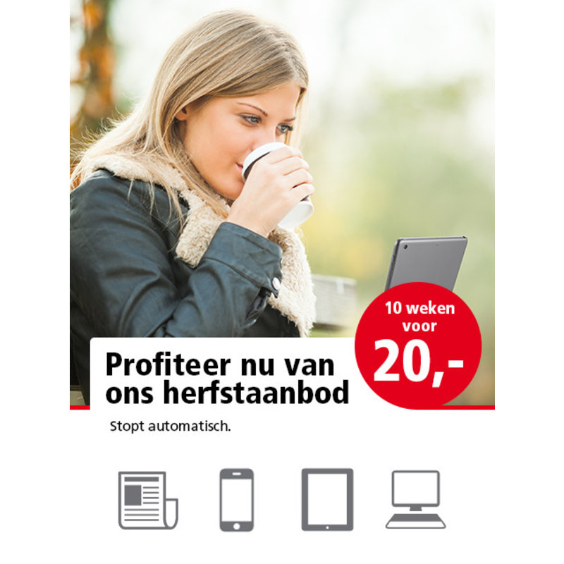 Herfstactie IJmuider Courant