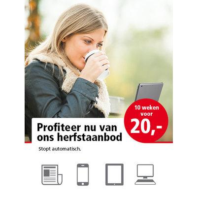 Herfstaanbod Haarlems Dagblad