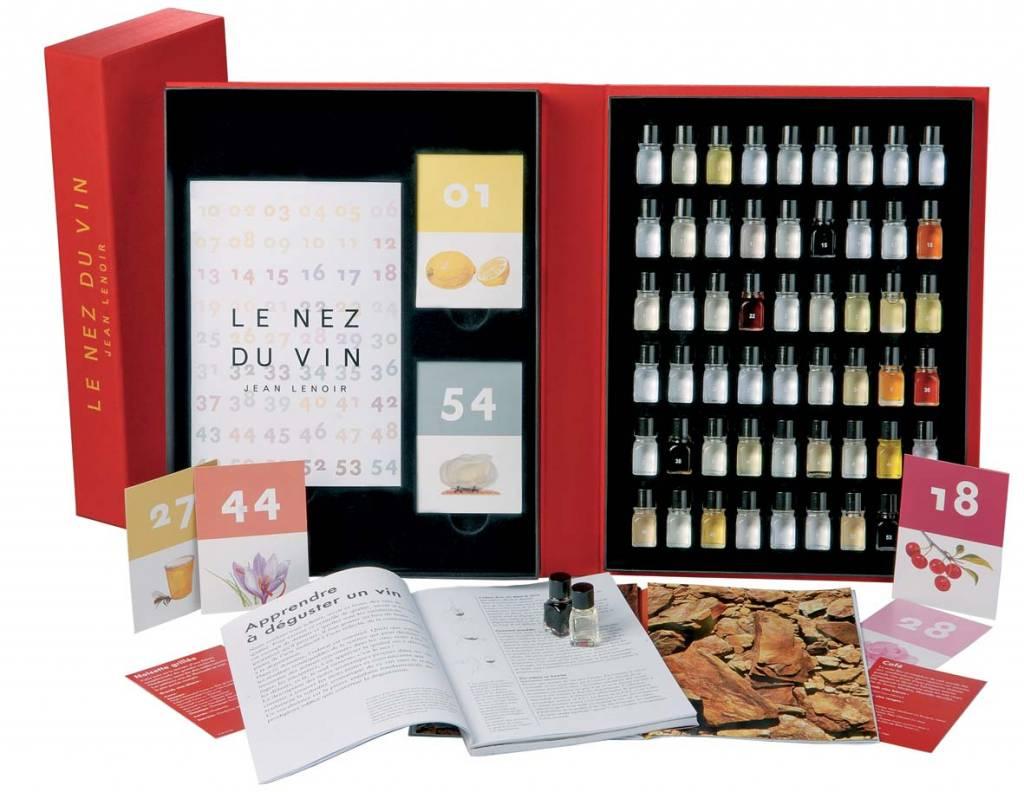 Le Nez du Vin Le Nez du Vin Masterkit 54 Aroma's