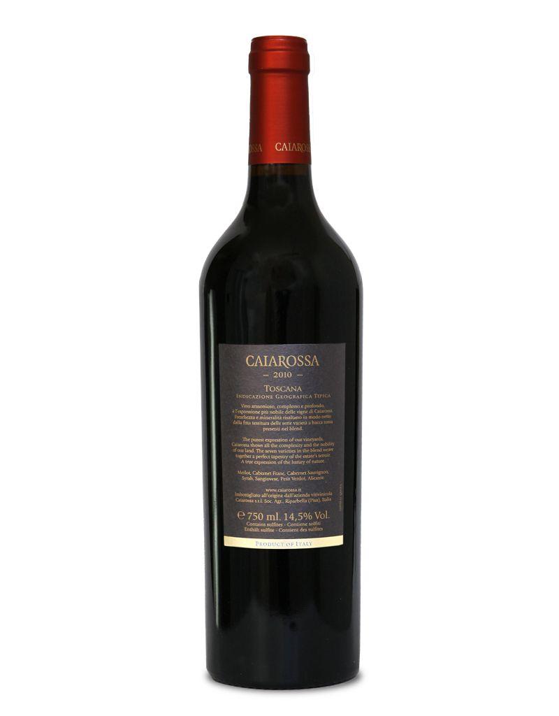 Caiarossa Caiarossa I.G.T. Toscana 2010 & 2011