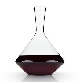 Viski Raye™ Angled Lead Free Crystal Decanter by Viski
