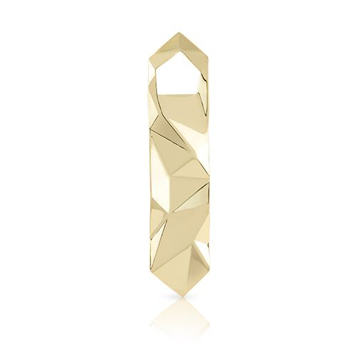 Viski Belmont™ Faceted Gold Bottle Opener by Viski