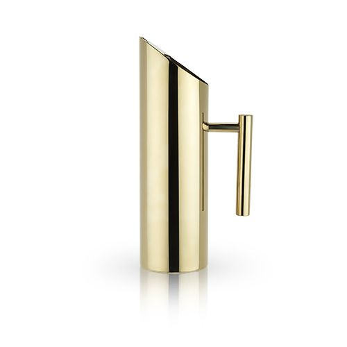 Viski Belmont™ Modern Gold Pitcher by Viski