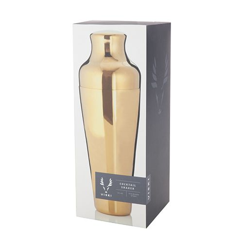 Viski Belmont™ Gold Cocktail Shaker by Viski