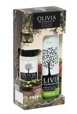 Olivia Fusion Gift Set Shower Gel 300ml & GRATIS Body Lotion Fig 50ml