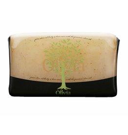 Olivia Glycerine Exfoliating Zeep Olive Oil & Olive Seeds 125 gr