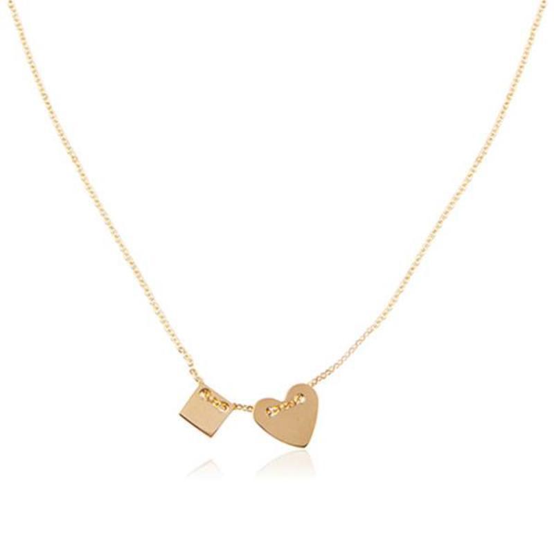 ZAG bijoux ZAG ketting hartje goud necklace