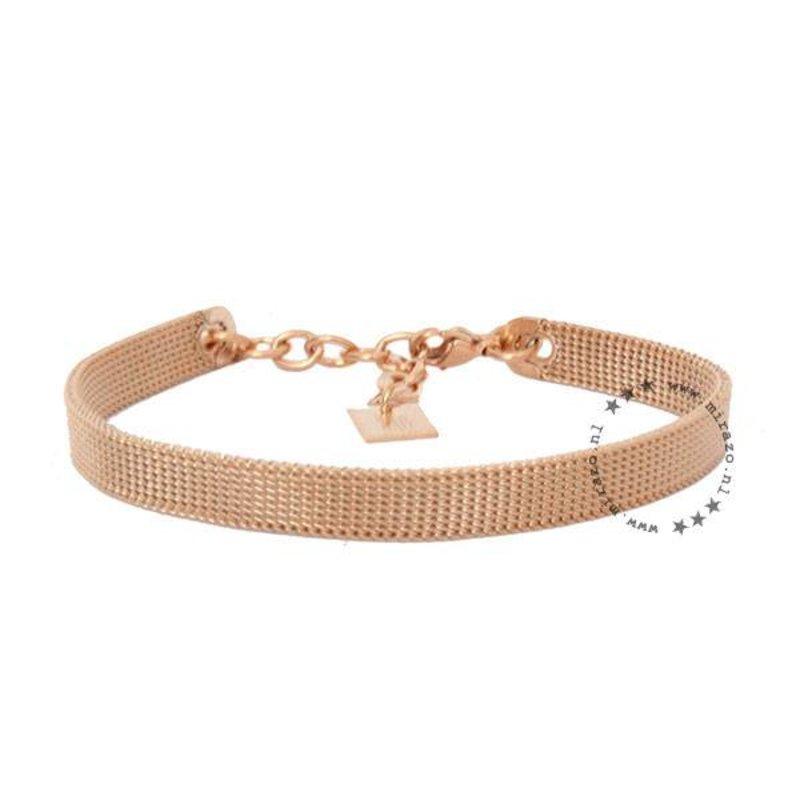 ZAG bijoux ZAG armband basic rosegoud