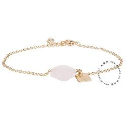 ZAG Bijoux  ZAG armband klaver baby roze goud