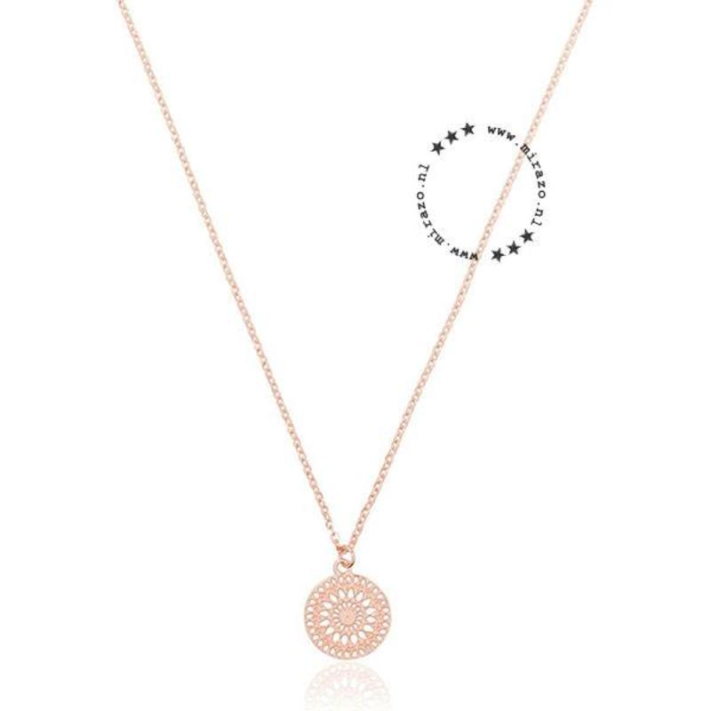 ZAG bijoux ZAG ketting amulet rose